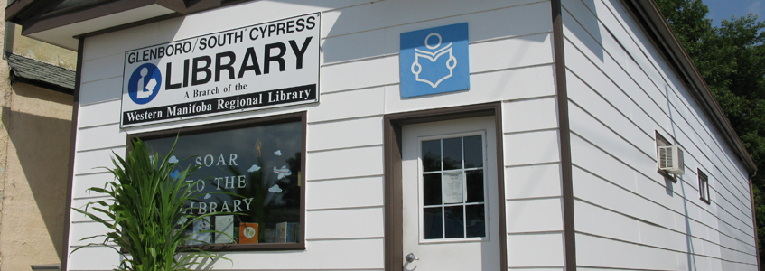 Glenboro/South Cypress Library updates hours October 1