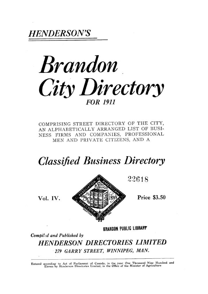 Brandon Henderson Directories