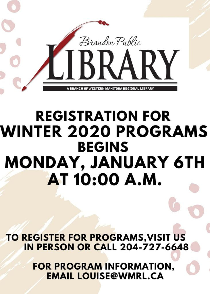Winter Programs are Coming!