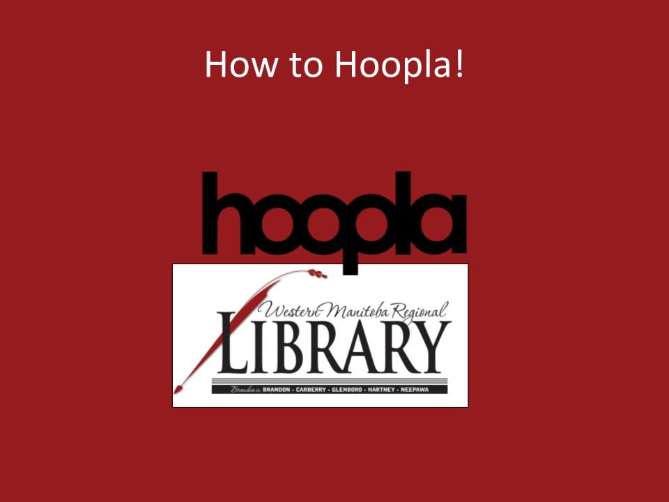How to Hoopla