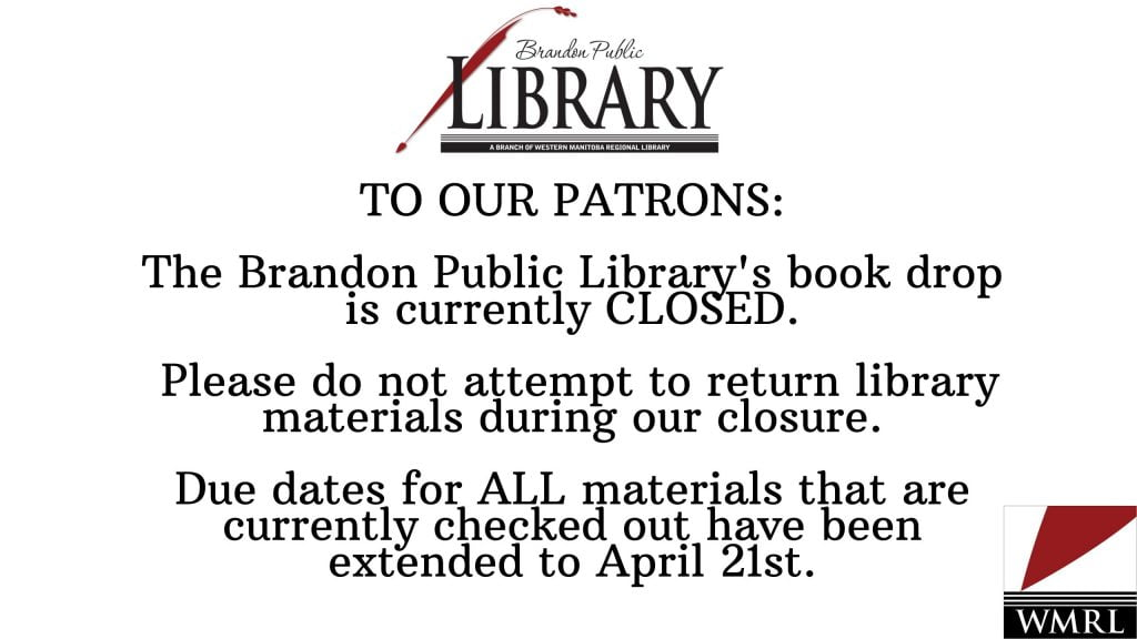 Library Closures March 17-April 14, 2020