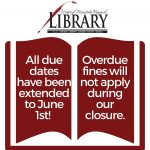Due Dates extended to June 1