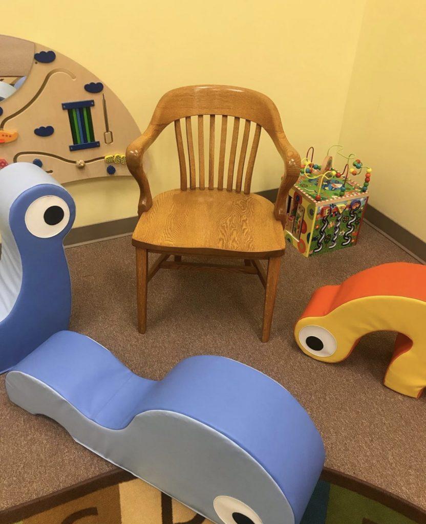 Storytime in Brandon Library