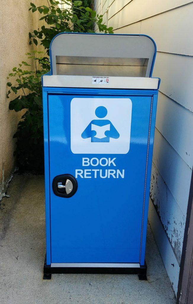 New Book Drop at Glenboro Library!