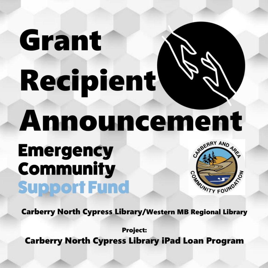 Carberry iPad Loan Program