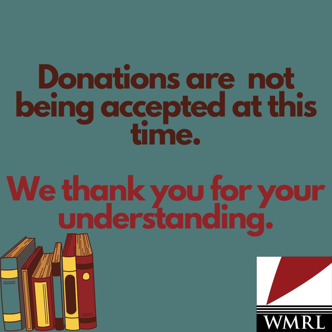 Please, No Book Donations in Brandon