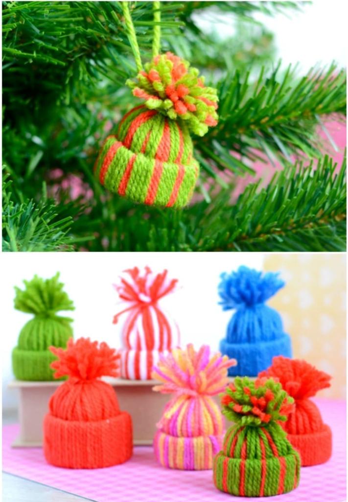 Yarn hats