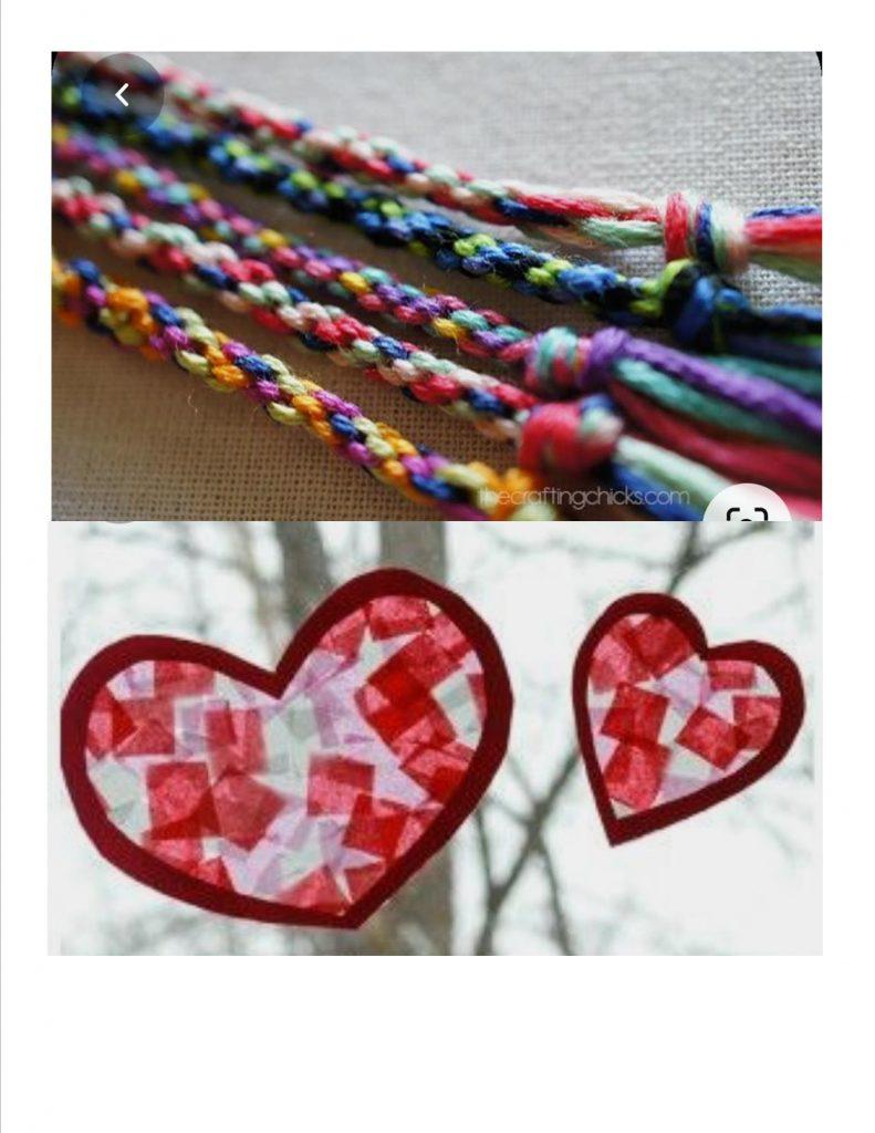Valentine's Day Crafts at Glenboro Library