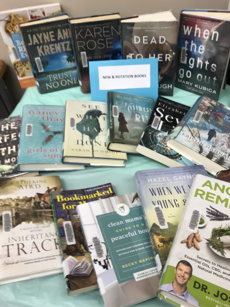 New and Rotation books at Hartney Library