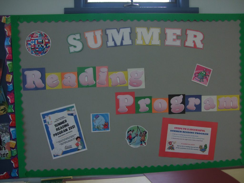 Neepawa Library is ready for Summer Readers!