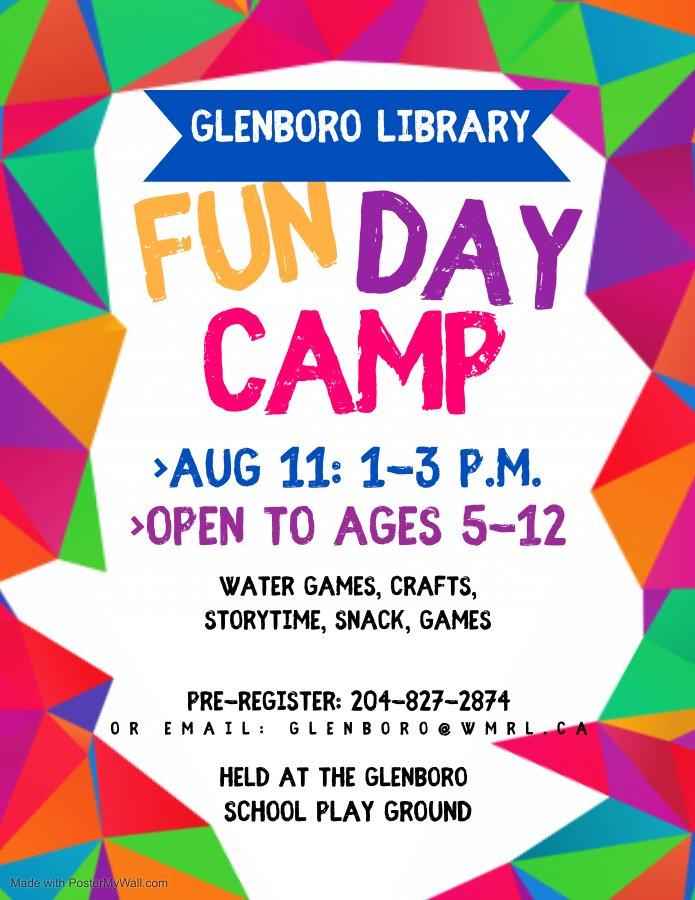 Glenboro Fun Day Camp