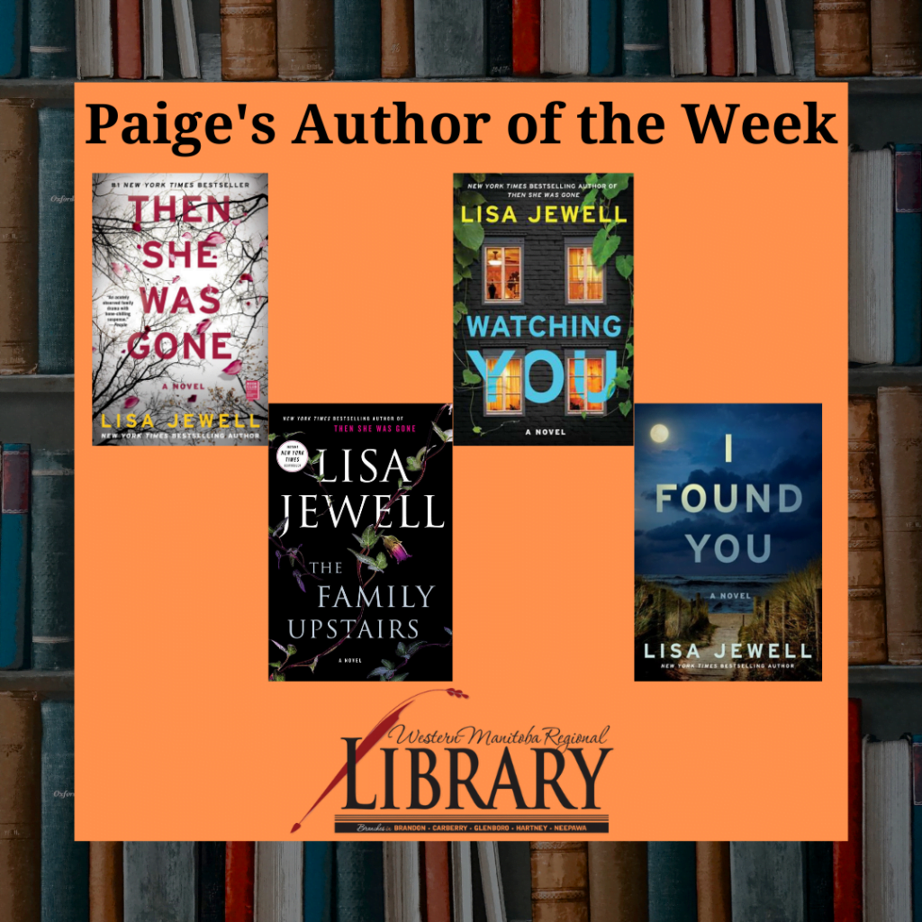 Paige's Author of the Week